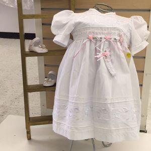 Baptismal baby's Dress, ropón Bautizo bebe